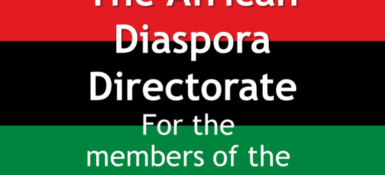 Hello world. The African Diaspora Directorate website is here!